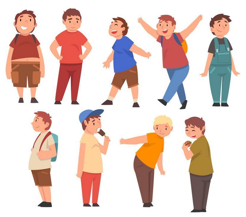 Υπέρβαρα παιδιά εικόνα