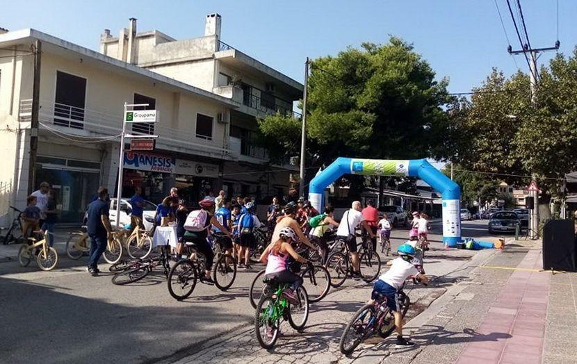 Ποδηλατάδα Δήμου Διονύσου εικόνα