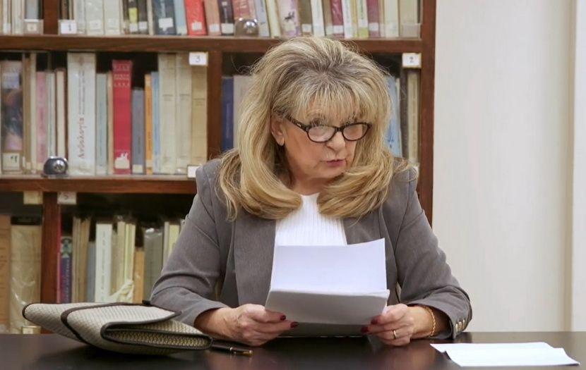 Καθηγήτρια Πανεπιστημίου Αθηνών, Νικολίτσα Γεωργοπούλου - Λιαντίνη