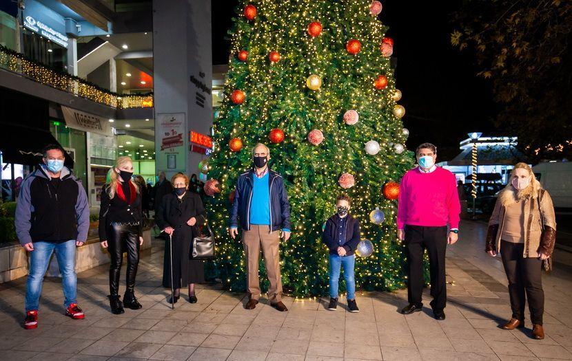 Διαδικτυακό άναμμα Χριστουγεννιάτικων Δέντρων Δήμου Κηφισιάς 2020