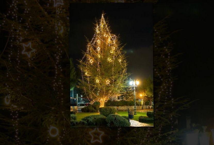 Χριστουγεννιάτικος Στολισμός Δήμου Διονύσου 2020
