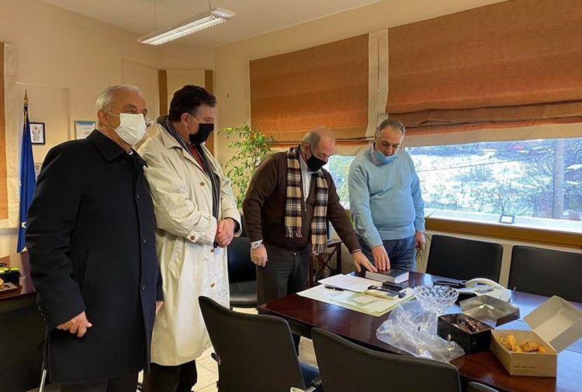Ορκωμοσία νέων συμβούλων Δήμο Διονύσου