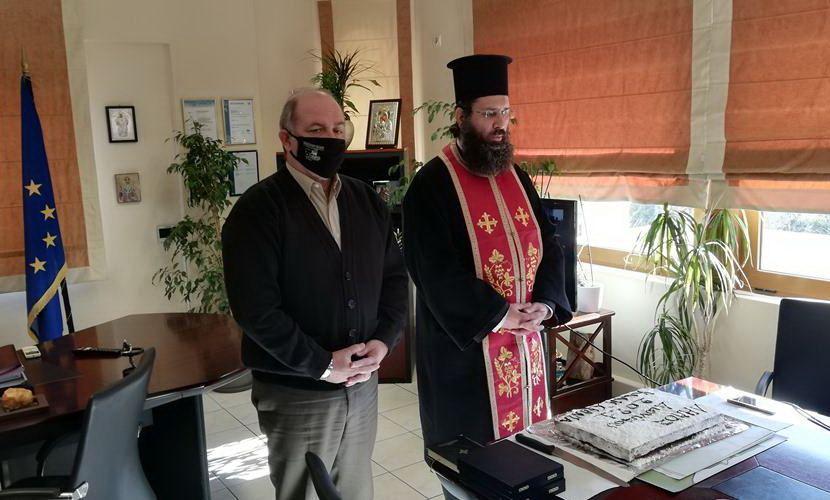 κοπή της Πρωτοχρονιάτικης πίτας Δήμου Διονύσου