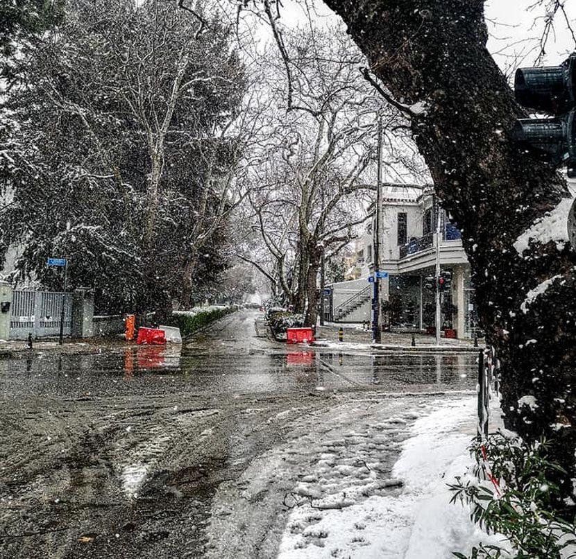Δήμος Κηφισιάς Χίονι εικόνα