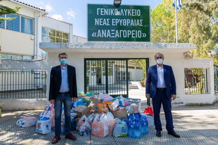 ειδη πρώτης ανάγκης - Δήμος Κηφισιάς