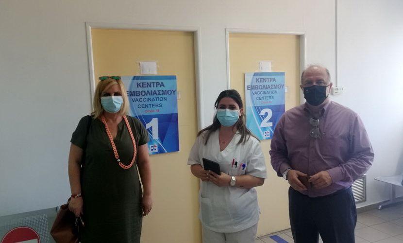 Εμβολιαστικό Κέντρο Covid-19 - ΙΚΑ Αγίου Στεφάνου