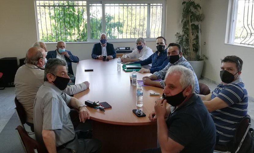 σύσκεψη εργασίας Δήμου Διονύσου