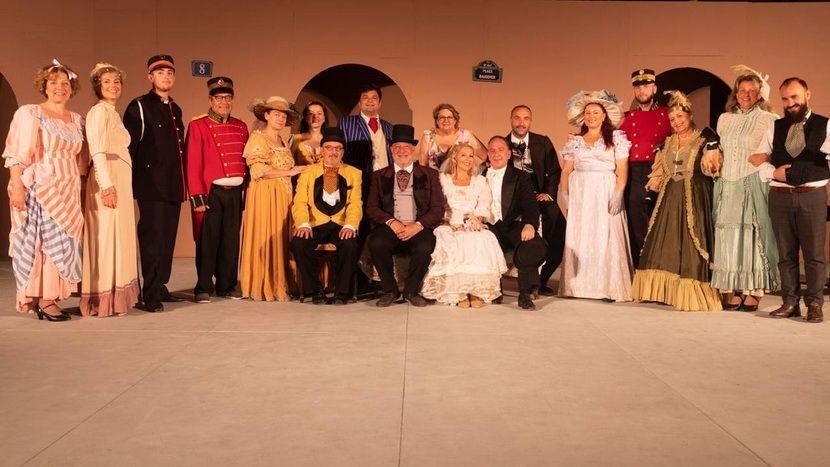 θεατρική παράσταση - Ένα καπέλο από ψάθα Ιταλίας